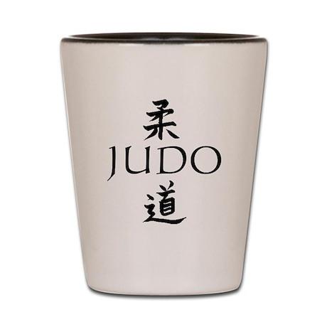 Judo Kanji Shot Glass