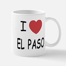I heart el paso Mug