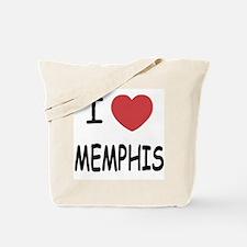 I heart memphis Tote Bag