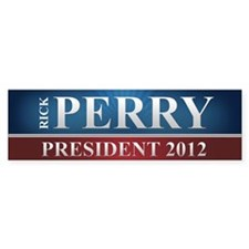 Rick Perry 2012 Bumper Sticker