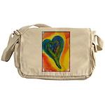 Bright Valentine Messenger Bag
