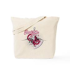 Throat Cancer Remission ROCKS Tote Bag