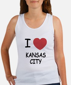 I heart kansas city Women's Tank Top