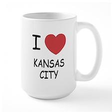 I heart kansas city Mug