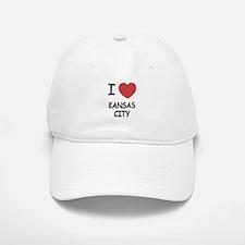 I heart kansas city Baseball Baseball Cap