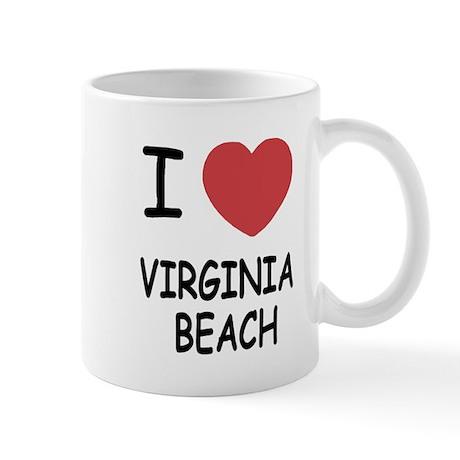 I heart virginia beach Mug