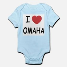 I heart omaha Infant Bodysuit