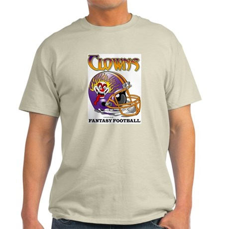 Fantasy Football - Clowns Ash Grey T-Shirt