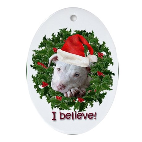 I Beleive Ornament (Oval)