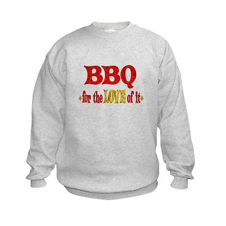 BBQ Love Kids Sweatshirt