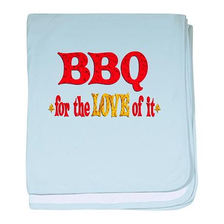 BBQ Love baby blanket