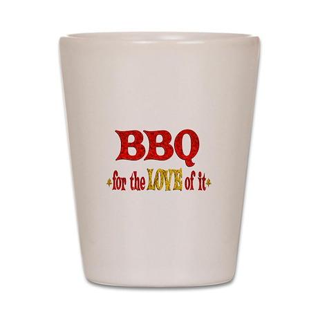 BBQ Love Shot Glass