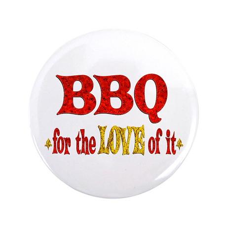 "BBQ Love 3.5"" Button (100 pack)"