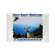 Great Smoky Mtns Tennessee Rectangle Magnet