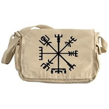 Viking Compass : Vegvisir Messenger Bag