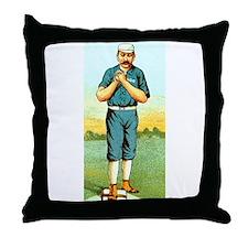 Vintage Pitcher Throw Pillow