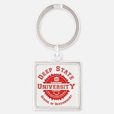 Unique University Square Keychain