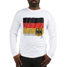 Silky Flag of Germany Long Sleeve T-Shirt