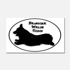 Happy-Go-Corgi - Car Magnet 20 x 12