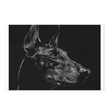 Dramatic Doberman Postcards (Package of 8)