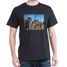 CADILLAC RANCH Black T-Shirt