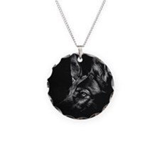 Dramatic German Shepherd Necklace