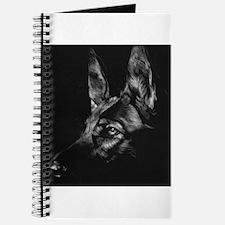 Dramatic German Shepherd Journal