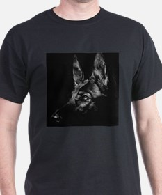 Dramatic German Shepherd T-Shirt