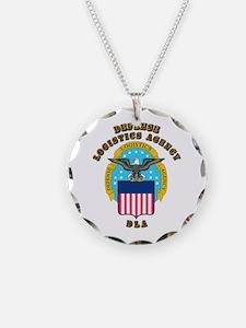 Emblem - Defense Logistics Agency Necklace