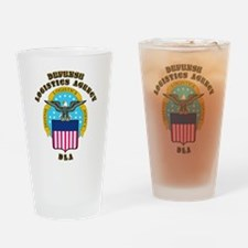 Emblem - Defense Logistics Agency Drinking Glass