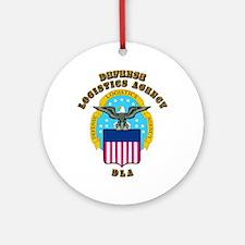 Emblem - Defense Logistics Agency Ornament (Round)