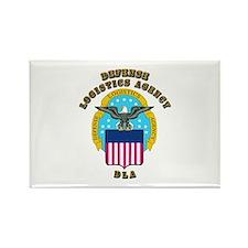 Emblem - Defense Logistics Agency Rectangle Magnet