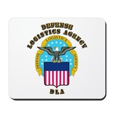 Emblem - Defense Logistics Agency Mousepad