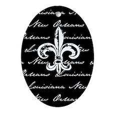 New Orleans, Louisiana Oval Ornament