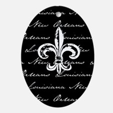New Orleans, Louisiana Oval Ornament