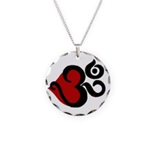 Heart Om Necklace