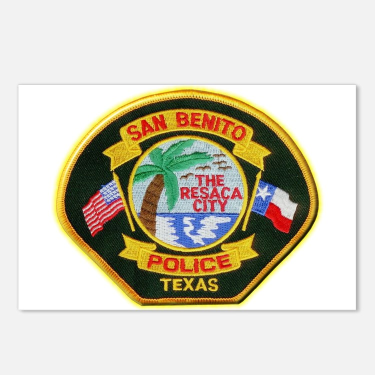 San Benito Police Postcards (Package of 8)