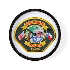 San Benito Police Wall Clock