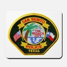 San Benito Police Mousepad