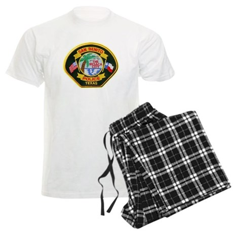 San Benito Police Men's Light Pajamas