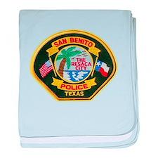 San Benito Police baby blanket