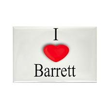 Barrett Rectangle Magnet