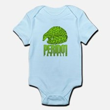 PERIDOT PANGOLIN Infant Bodysuit