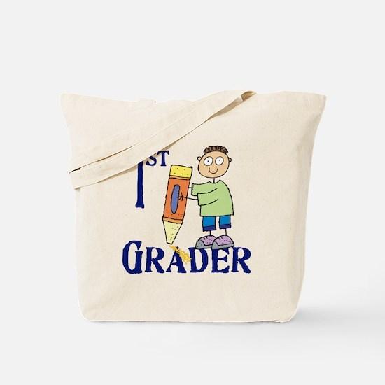 1st Grade Boy Tote Bag
