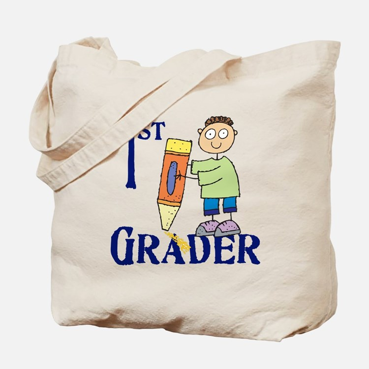 1st Grade Boy Tote Bag