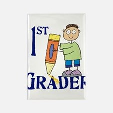 1st Grade Boy Rectangle Magnet (10 pack)