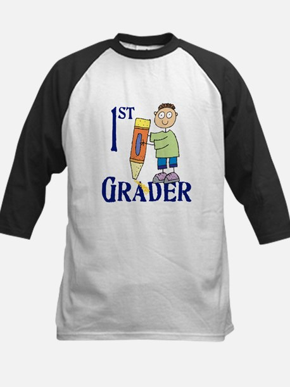 1st Grade Boy Kids Baseball Jersey
