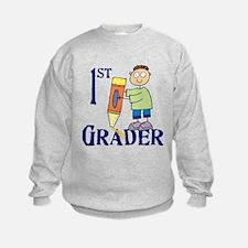 1st Grade Boy Sweatshirt