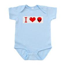 I Love Alien Infant Bodysuit