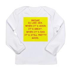 Duplicate bridge Long Sleeve Infant T-Shirt